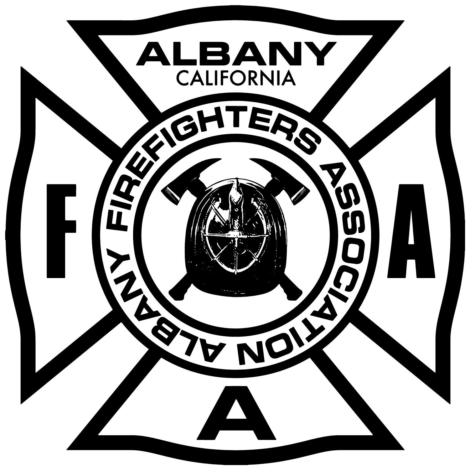 Albany firefighters association logo design mark reategui design albany firefigherslogo buycottarizona Choice Image