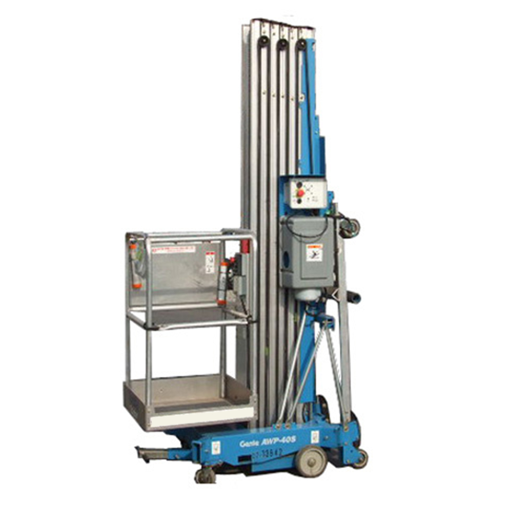 medium resolution of 40 personnel lift genie awp 40s