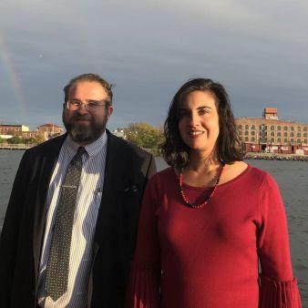 Mark and Nicole Malliotakis