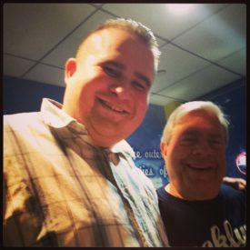 Mark with Former Brooklyn Borough President Marty Markowitz