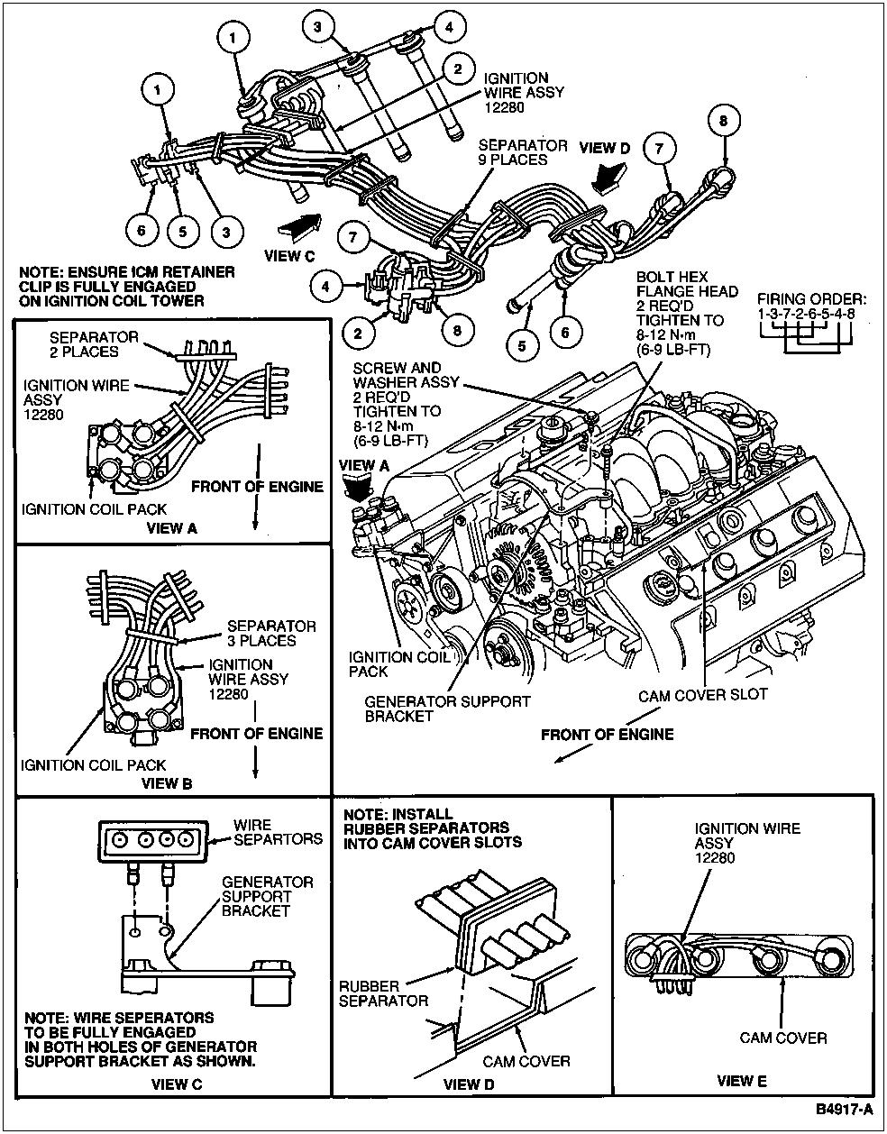 [WRG-2570] 1996 Mark 8 Engine Diagram