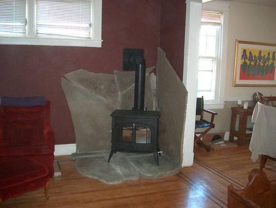 Wood Stove Installation  Mark  Buttons CS Inc