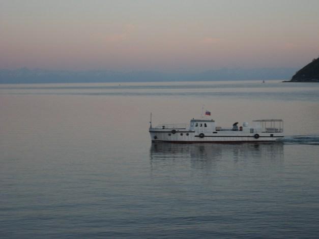Boat on the Angara