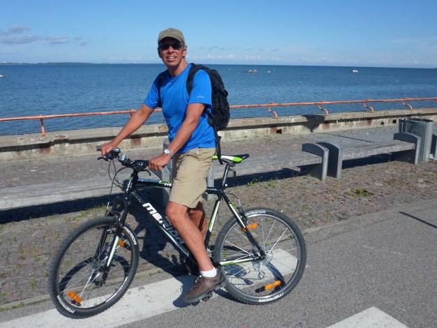 Wonderful biking along the Gulf of Finland