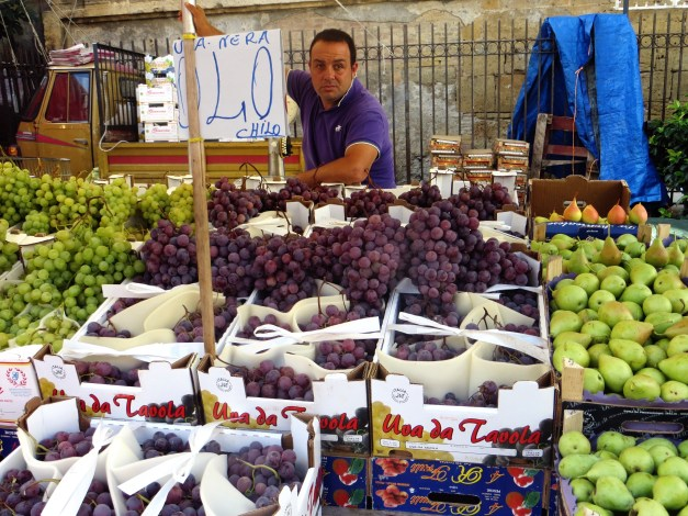 It's important to dress to match your produce, Palermo
