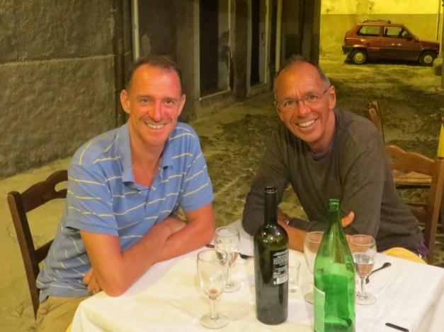 Dinner at Borgo San Ignacio