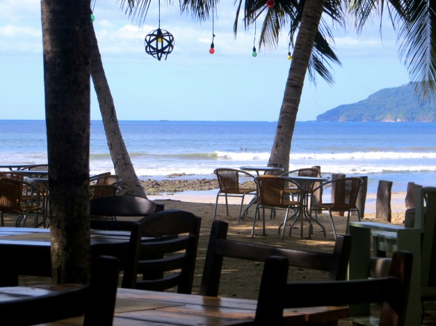 Lunch on the beach in Tamarindo. It's surprising how little time we spent actually on the beach there, but lunch with a view like this can't be bad.