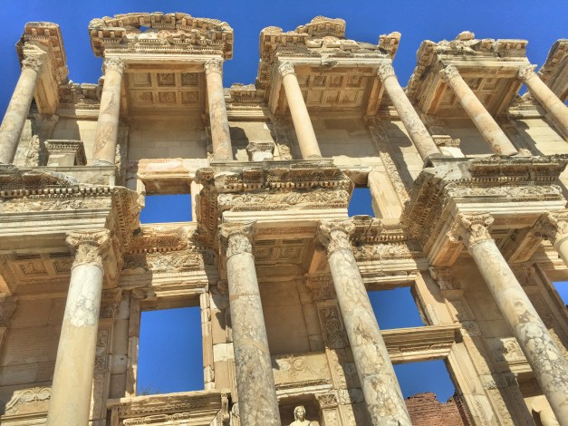 Another view of the Library of Celsus