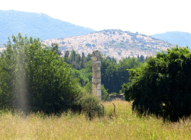 That's what's left of the Temple of Artemis. Pretty impressive, huh?