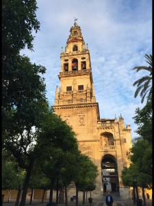 The Giralda, the Cathedral's bell tower, was originally a minaret. The Renaissance top was added in the mid-16th century and has become a symbol of the city.