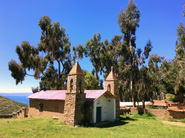 As we neared the end of the hike we crossed this cute little church