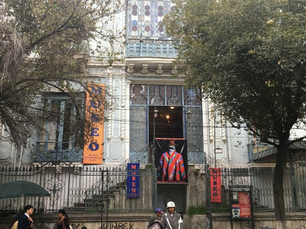 We enjoyed the modern Bolivian art at the Museum of Contemporary Art, but it was especially cool just to wander through the halls of this 19th century mansion partly designed by Gustave Eiffel