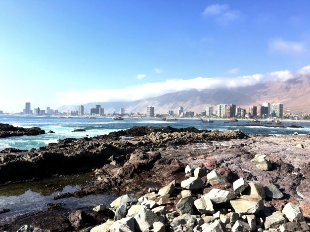 Iquique, Chile - beautiful water, some nice beaches, and on the edge of a massive desert