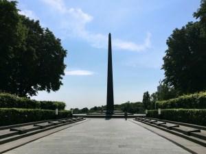 Kiev's Soviet-era War Memorial