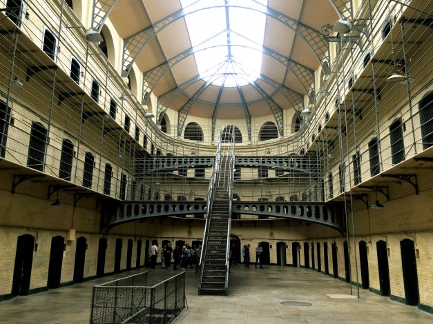 Inside the jail. It looked like a movie set, and indeed, scenes from several movies have been filmed here.