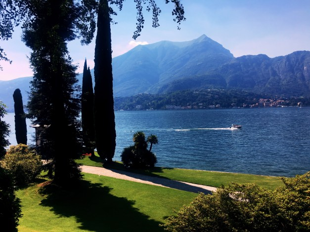 And then one last view of Lake Como. We'll get back some day.