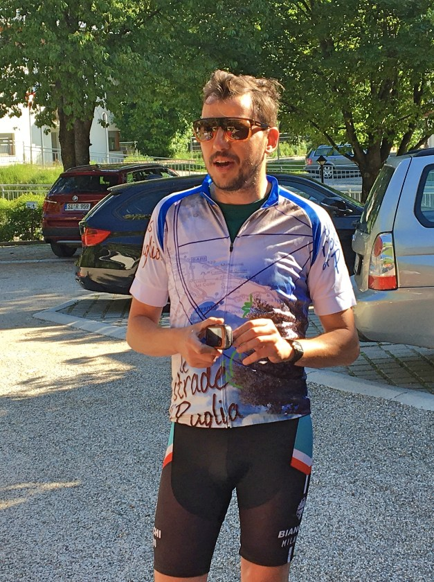 And Giacomo, now leading us on our third Zephyr bike tour. We love his cute and quirky sense of humor and, of course, his Italian accent.
