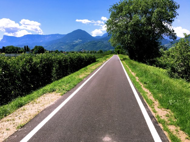The bike paths of Italy were universally in great shape and usually well used