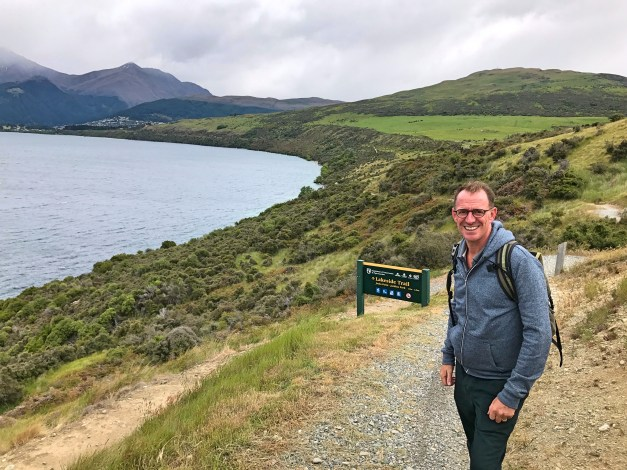 Hiking to Queenstown