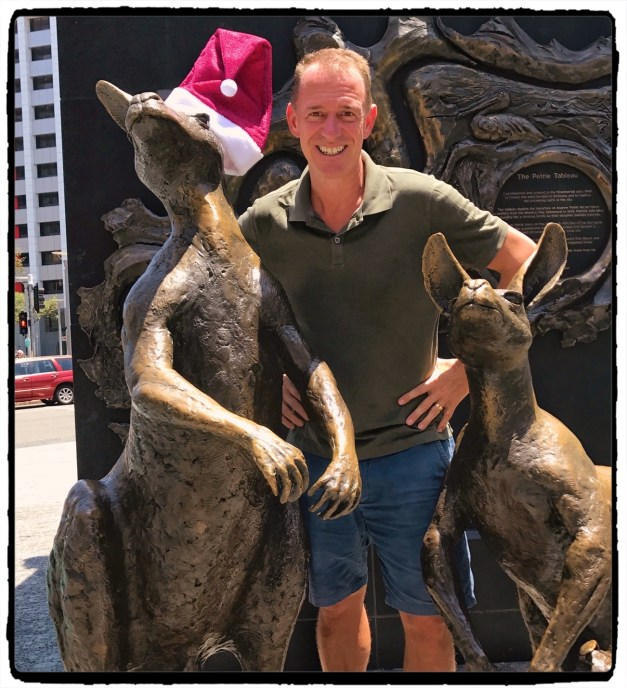 Celebrating the Holiday Season with some of Brisbane's local wildlife