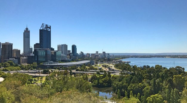 Downtown Perth from Kings Park & Botanic Garden