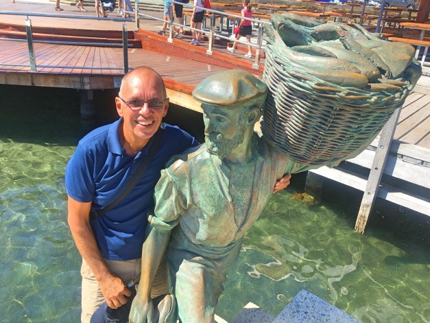 I enjoyed getting to know some of the statues out in Fremantle