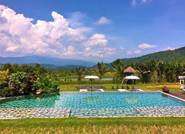 Sanak resort in Munduk. It really is that beautiful