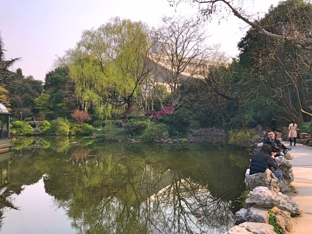 Shanghai is a huge city with mean waiters but you can still find little pockets of peace and serenity