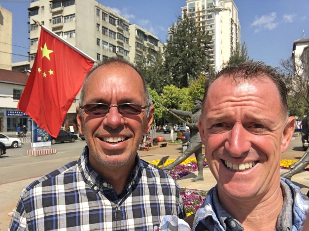 Mark and Jim start their Chinese holiday