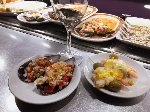 Not surprisingly, we continue to love Spanish tapas. And Spanish wine.