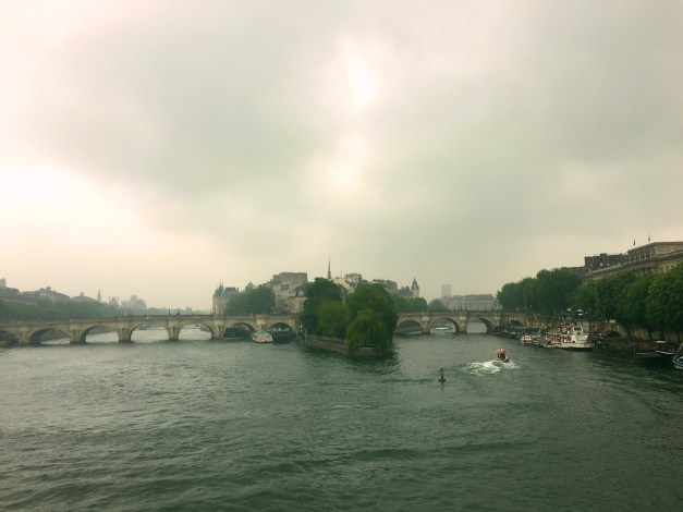 Even in the gloom and rain, Paris is beautiful