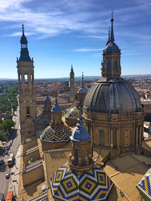 Just a few of the domes seen from one of the towers in the Basilica