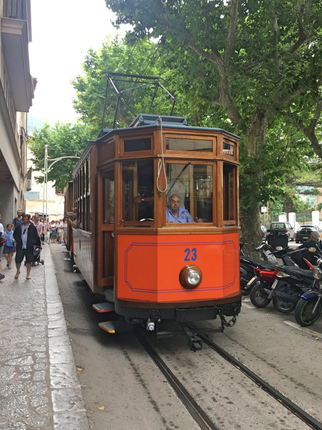 We rode the tram between Sóller and Port de Sóller a bunch of times, and enjoyed it every time