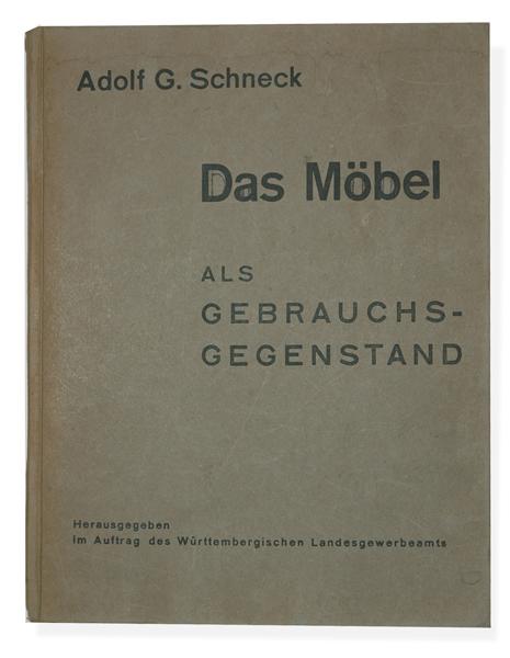 Das Mbel Als Gebrauchsgegenstand Von Adolf Gustav Schneck