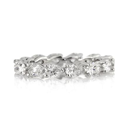 Pear Diamond Band Wedding Gallery
