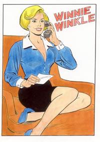 Winnie Winkle by Frank Bolle