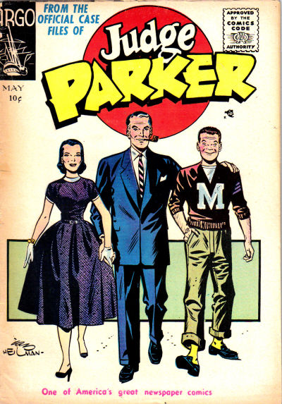 How Judge Parker Lost His Own Comic Strip