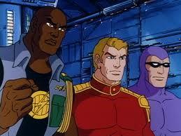 Lothar, Flash Gordon, and Phantom