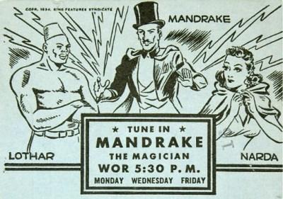 Mandrake and Lothar radio ad