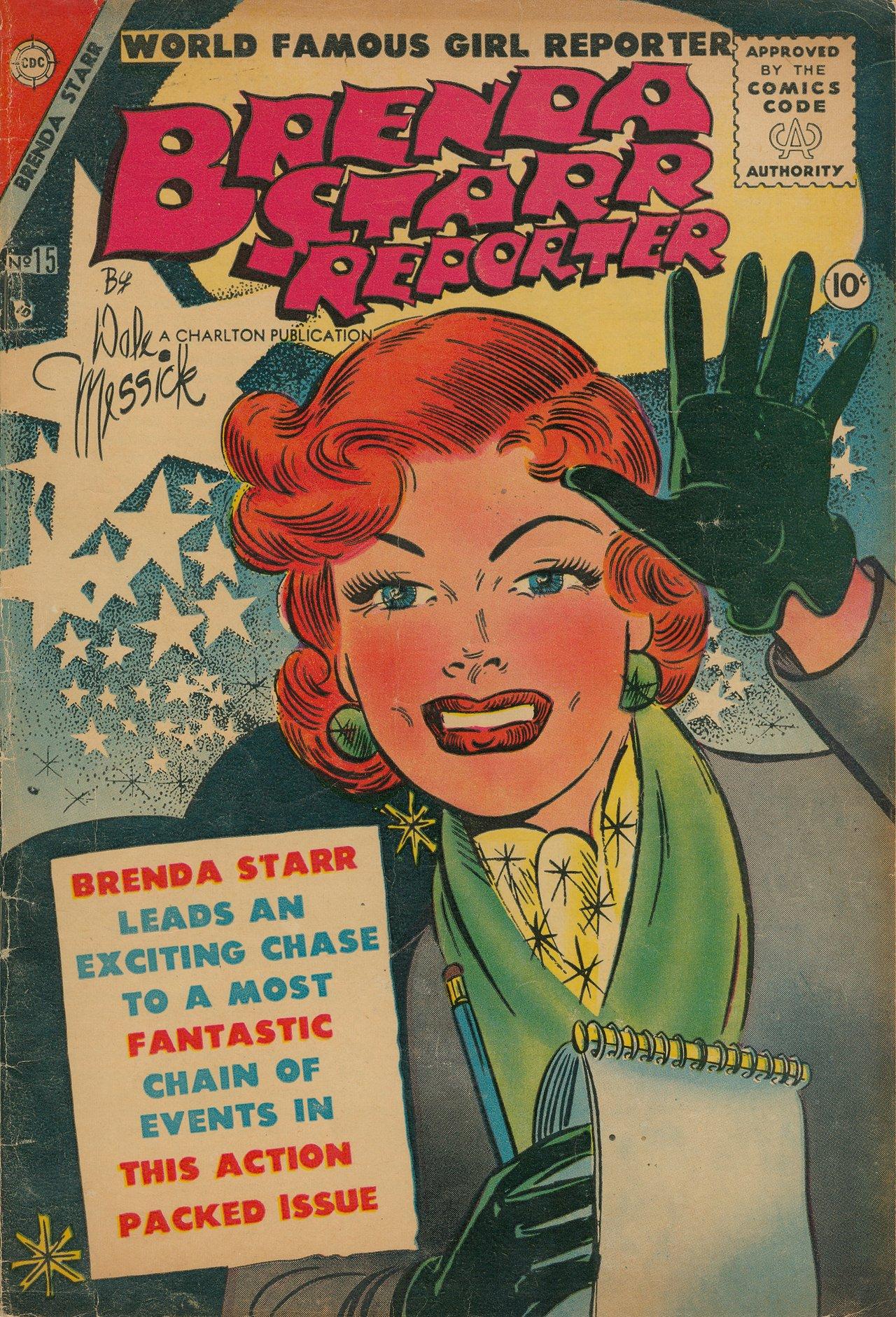 828b97098 Brenda Starr: Challenging or Embracing Gender Stereotypes?