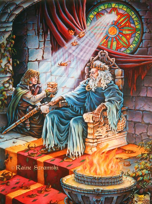 The Fisher King's Son and the Forging of Peredur - Mark Carlson-Ghost