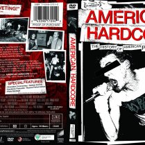 American Hardcore DVD packaging (alternate version)