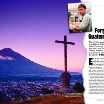The Advocate magazine Lead news spread