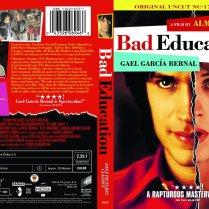 Bad Education DVD packaging