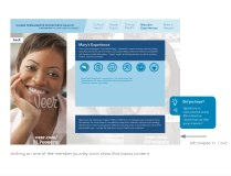Kaiser Permanente App article prototype, screen 6/7