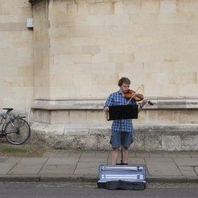 Violinist, Oxford