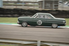 Ford Falcon at the Chicane, Thruxton