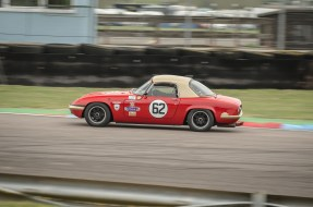 The Lotus Elan of Mel Taylor in the Chicane
