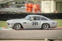 Aston Martin in the Chicane