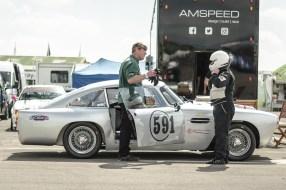 Aston Martin in The Paddock